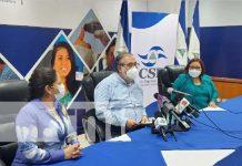 Conferencia del Consejo Supremo Electoral sobre Elecciones en Nicaragua