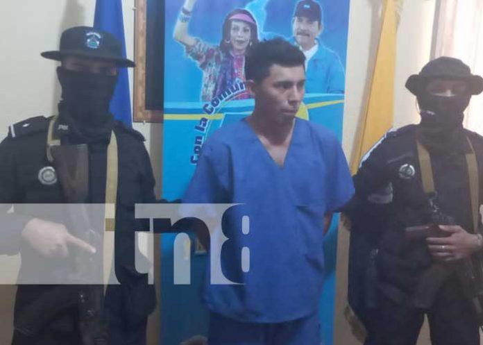 Tras las rejas presunto homicida en El Rama