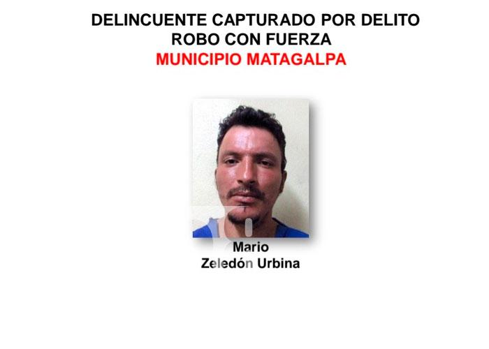 11 detenidos en Matagalpa