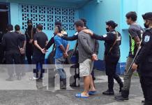Detenidos por delitos de robo y posesión de drogas