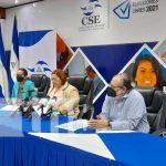 Conferencia de prensa del Consejo Supremo Electoral de Nicaragua