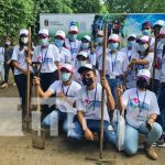 Voluntariado Universitario participa en jornada de reforestación en Tiscapa