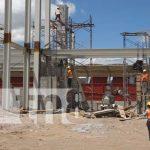 Inversiones para mejoras de estadio de fútbol y de béisbol en Estelí