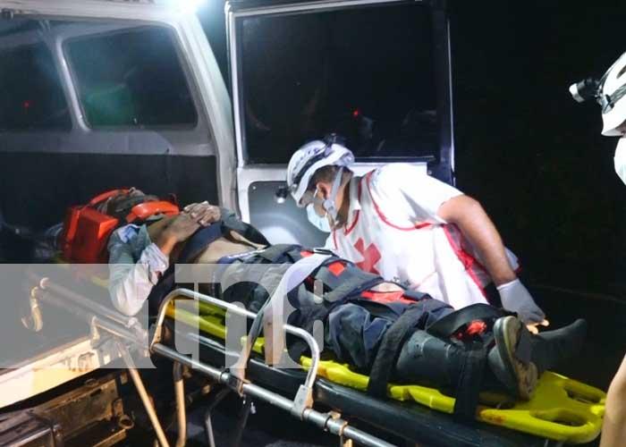 Atropellado por una motocicleta