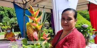 Exposición de la floricultura en Nicaragua