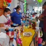 Feria gastronómica que se realizó en MIGOB