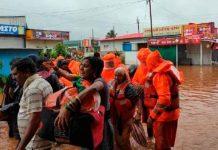 Aumenta a 26 muertos por inundaciones y deslizamientos de tierra en la India