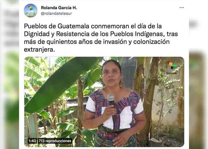 En Guatemala marchan contra dignidad indígena, negra y popular