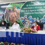 Finaliza taller impartido por técnicos de Palestina en Nicaragua