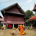 Un millón de afectados por las inundaciones en Tailandia