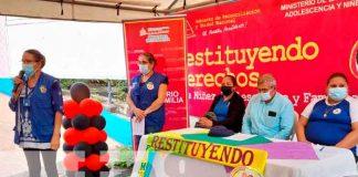 Familias de partos múltiples en Ciudad Sandino reciben paquetes alimenticios
