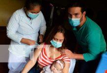Vacunas contra el COVID-19 que aplican en Jinotega