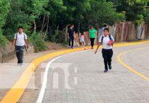 Inauguran nuevas calles en Juigalpa