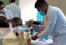 Todo un éxito la Jornada de vacunación contra el COVID-19 en Chontales