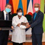 MINSA recibe donación de Japón y UNICEF para fortalecer la lucha del COVID-19