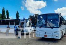 Nuevas unidades de autobuses para cooperativas en Managua