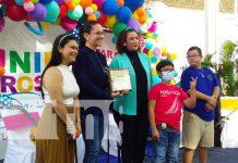 Reconocimiento del INIFOM a la Alcaldía de Managua por los parques