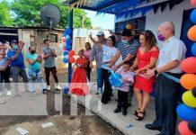 Acto de entrega de vivienda digna en Managua