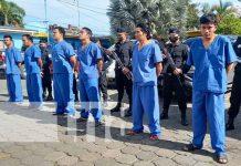 Policía Nacional presentó sujetos por delitos de peligrosidad