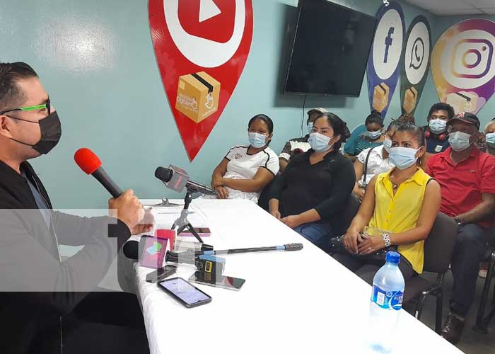 Entregan desembolso a emprendedores en Managua
