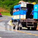 Pobladores contentos por mejoramiento vial en el país
