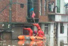 43 muertos por las fuertes lluvias en el norte y sur de la India