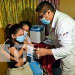 Vacunación voluntaria a niños y niñas en Nicaragua