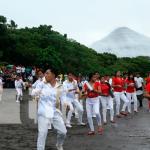Pobladores se preparan para Expo Ometepe