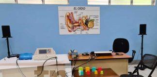 Inauguran taller de prótesis auditivas en Managua