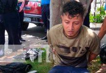 Operativo policial en Managua para captura de un delincuente
