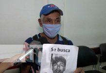 Padre busca desesperadamente a su hijo en Managua