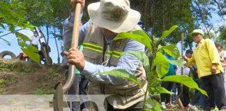 Nuevo parque natural en Ciudad Sandino, con el nombre Paul Oquist