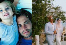 Vin Diesel acompaña a la hija de Paul Walker al altar