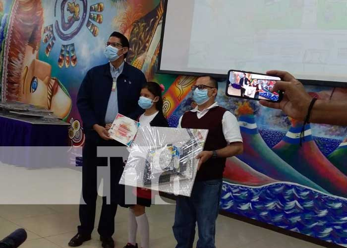 Concurso de pintura en Nicaragua sobre gestión de riesgo