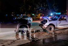 Fuerte accidente de tránsito tras conducir ebrio