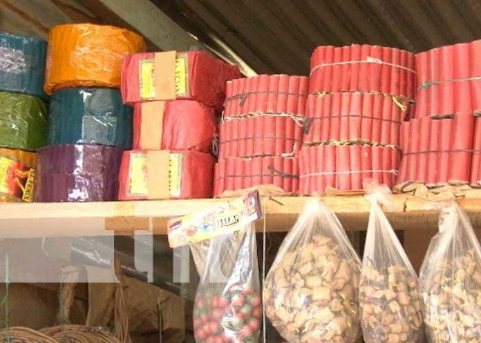 Regularán comercio de pólvora en fiestas de diciembre y año nuevo en Nicaragua