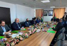 Embajadores de LatinoAmérica en reunión con ministros de agricultura palestino
