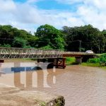 Imagen del Río Sapoá, Rivas, donde un joven perdió la vida por sumersión