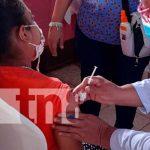 Jornada de vacunación contra el COVID-19 en Rivas