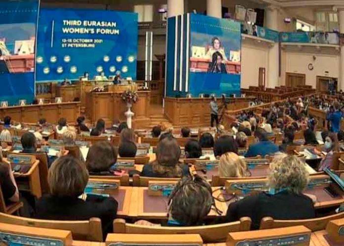 Discurso de Alba Azucena Torres en el III Foro Euroasiático de Mujeres