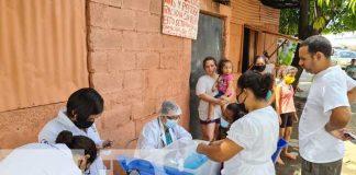 Feria de salud en barrios de Managua