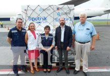 Nicaragua recibe nuevo lote de vacunas Sputnik Light y AstraZeneca