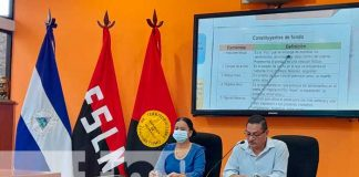 Conferencia de prensa sobre las teleclases en Nicaragua
