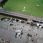 Fuerte temporal deja daños en casi un millar de viviendas en sur de Brasil