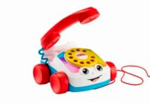 Icónico teléfono de juguete de Fisher-Price ¡ya puede hacer llamadas reales!