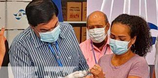 Prueba de tinta indeleble para el proceso electoral en Nicaragua