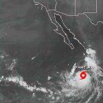 Se forma en la costa del Pacífico mexicano la tormenta tropical Pamela