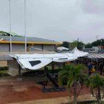 Tornado vuela techo de Hospital en la provincia Heredia, Costa Rica