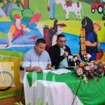 Conferencia de prensa sobre actividades que promueve el INTUR y el MEFCCA