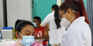 Nueva jornada de vacunación a personas en Managua